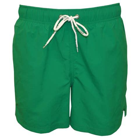 swim trunks hilfiger solid swim shorts emerald green