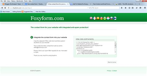 cara mudah membuat form html du komput cara membuat contact form untuk website dengan