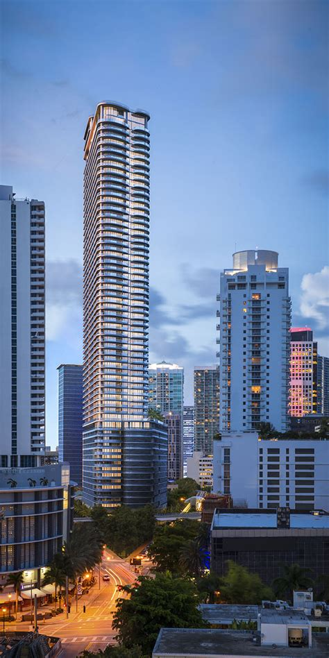 miami luxury condos brickell flatiron architecture