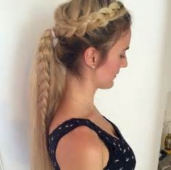 hair braid across back of 19 pretty ways to try french braid ponytails pretty designs