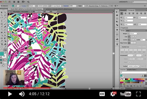 illustrator pattern has seams my illustrator file has too many anchor points courses