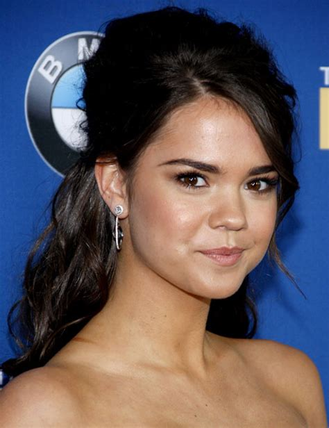 mia mitchell haircut maia mitchell wavy dark brown beehive half up half down