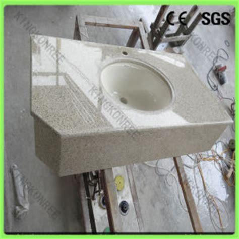 Pre Cut Kitchen Sink Countertop China Solid Surface Quartz Worktop Pre Cut Sink