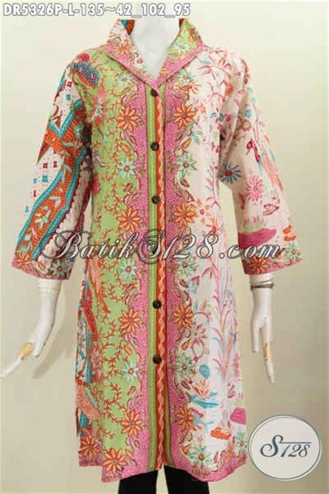 Blus Anak Batik Atasan Anak Cewek Pakaian Anak Batik B11017006ijo dress batik wanita terkini pakaian batik cewek desain