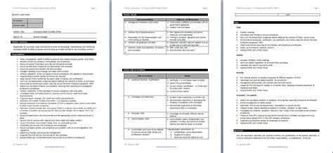safety compliance descriptions hr services