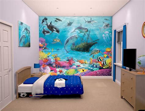 the sea wall mural kid s wall murals northern vinyls murals