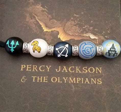 percy jackson bead necklace percy jackson necklace c half blood titan s curse