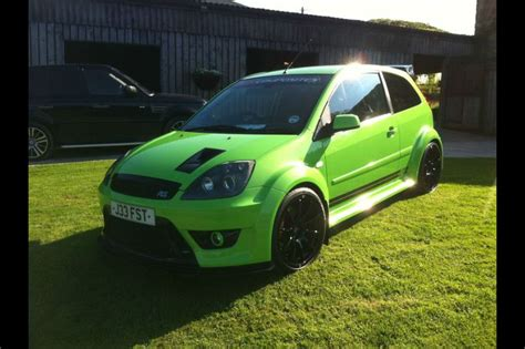 fiesta st cosworth supercharged  bhp cars pinterest fiestas