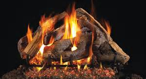 wsg46 18 peterson real fyre woodstack vented gas logs set