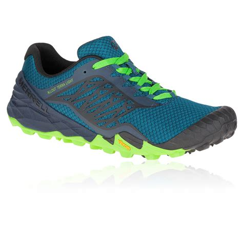 merrell sports shoes merrell all out terra light mens sneakers trail running