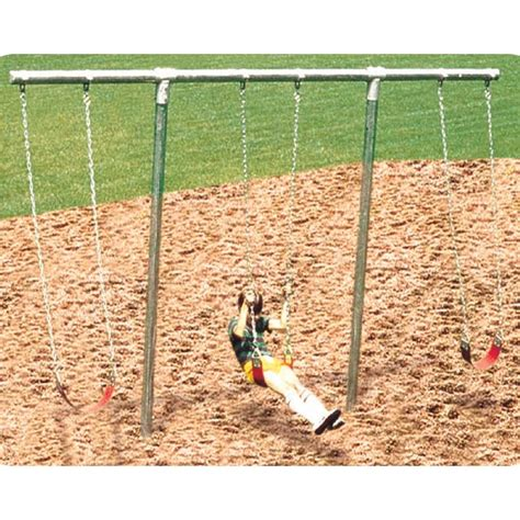 t swing set heavy duty t swing
