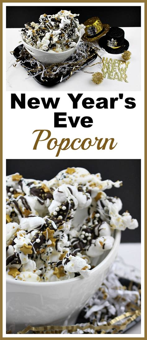 new year treat recipe sparkly new year s popcorn and easy treat