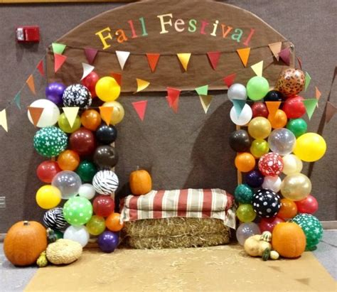 fall festival decorations fall photo backdrop fall
