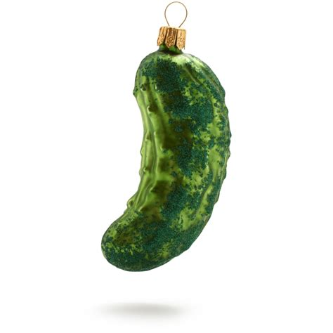 history   pickle christmas ornament tradition
