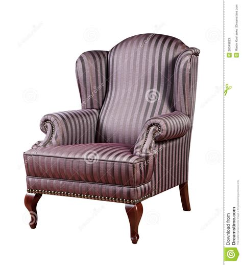 retro style armchair retro style armchair isolated stock image image 26049823