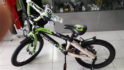 Sepeda Keranjang Wanita Wimcycle jual sepeda bmx wimcycle bronco 20 di lapak matthew mattpwt