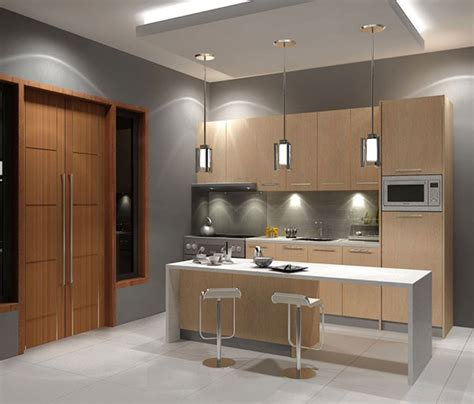 Simple Kitchen Designs For Small Spaces Simple And Small Indian Kitchen Decobizz