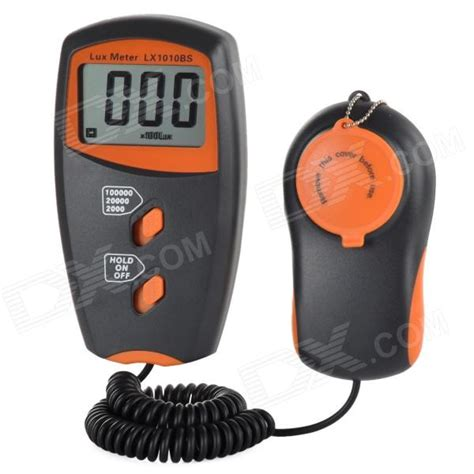 sanfix meter lx 1010 bs lx1010bs 2 2 quot lcd screen digital meter orange
