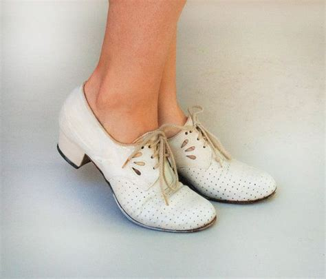 swing dance clothes and shoes vintage 1930s shoes swing time white leather eyelet