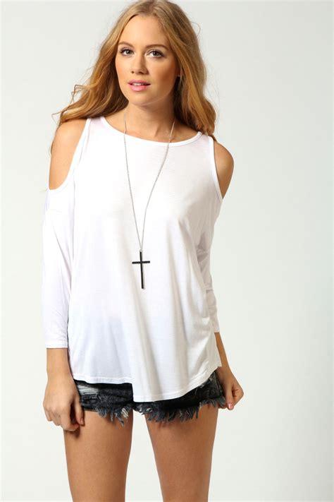 Cut Top cut out shoulder top fashion cut out shoulder top shoulder tops and