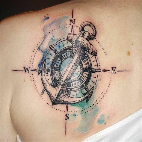 compass tattoo vorlagen pin von steffi auf tattoos pinterest anker tattoo