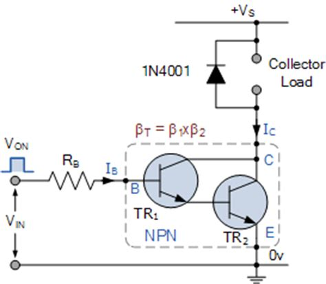 darlington transistor configuration output interfacing circuits connect to the real world