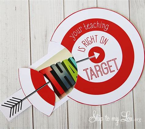 Printable Gift Cards Target - teacher appreciation gift cards