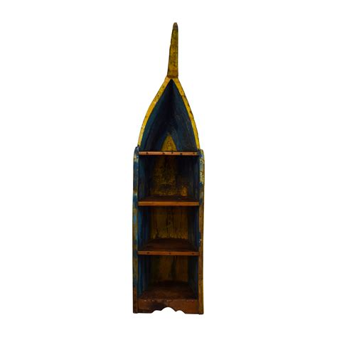 rustic boat bookshelf bookcases shelving used bookcases shelving for sale