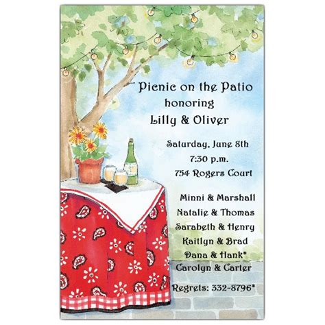 backyard barbecue invitations paperstyle