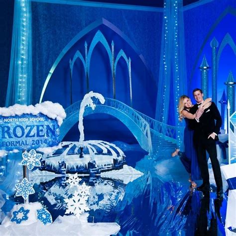 themed prom decorations 17 best images about frozen prom theme on