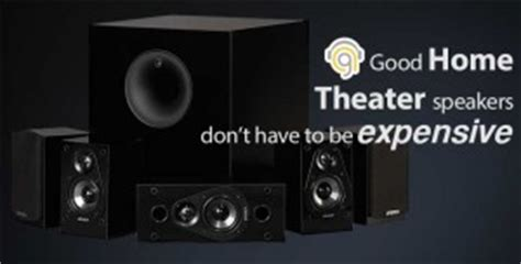 home theater speakers don t to be expensive