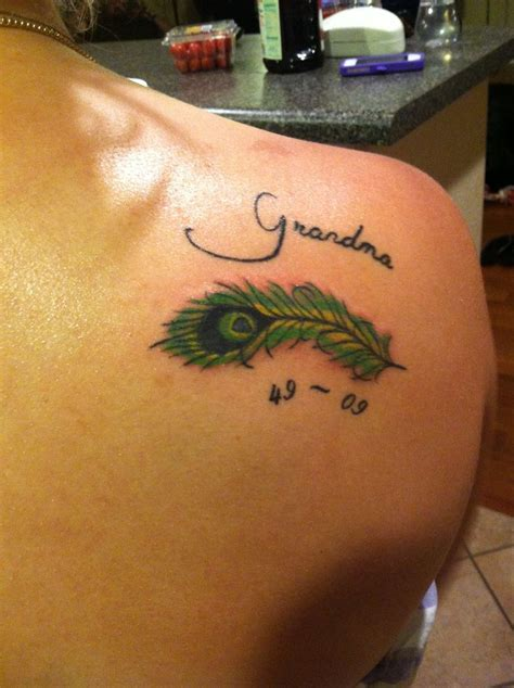 rip tattoos for grandma rip tattoos