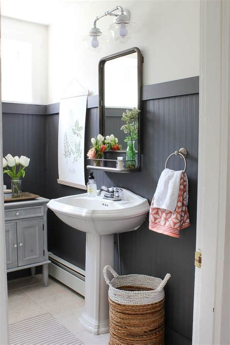Wainscoting For Bathroom by Best 25 Black Wainscoting Ideas On