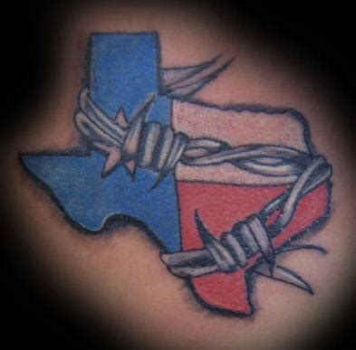 tattoo nation cc tx texas just remove the barb wire and add a yellow rose
