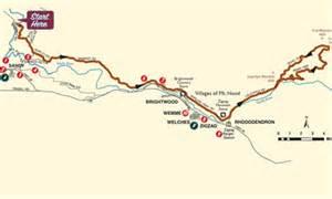 welches oregon map historic oregon trail tour bike it map oregon s mt
