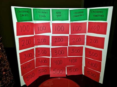 printable christmas jeopardy game 497 best christmas games to play images on pinterest