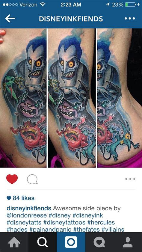 cartoon hercules tattoo hades pain and panic hercules tattoos pinterest