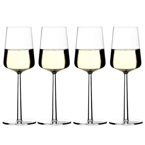 bicchieri vino bianco iittala bicchiere da vino bianco essence 4 pz