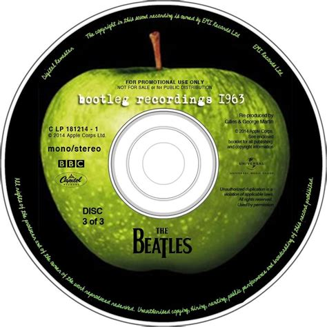 The Master S Sun 2013 4 Disc End the daily beatle apple label for bootlegs