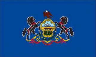 of pennsylvania colors us states 5 x 8 flags marvin display flags