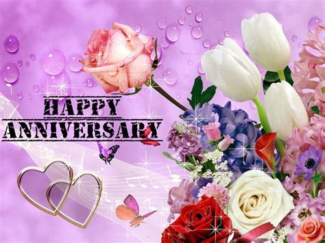 Happy Wedding Anniversary Song In by Awesome Anniversary Pink Flowers Images