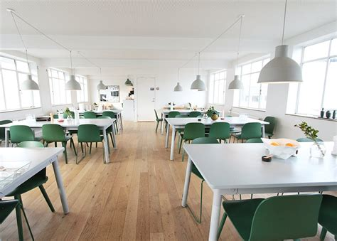 office canteen design photo 5 of 7 in muuto s sophisticated copenhagen office is