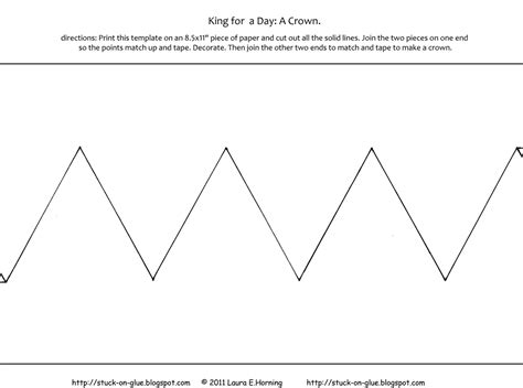 printable children s crown template kids crown template online calendar templates