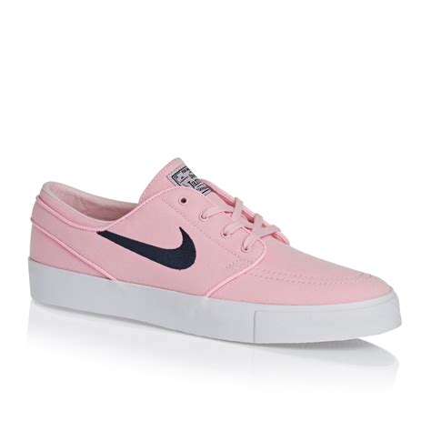 pink nike shoes nike skateboarding zoom stefan janoski canvas shoes
