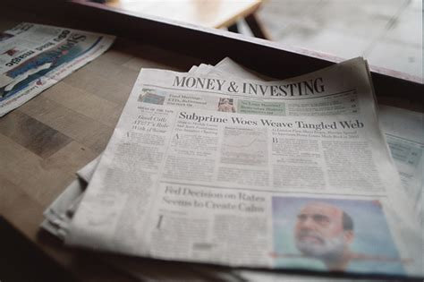 wall street journal sections money investing section wall street journal flickr