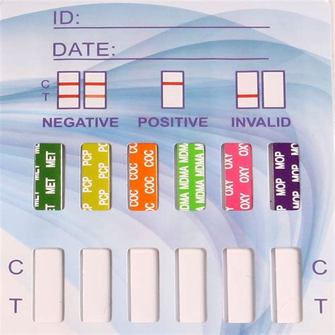 Oncoprobe Rapid Test Mdma 50 Card Box Clia Waived Multi Test Dip Card