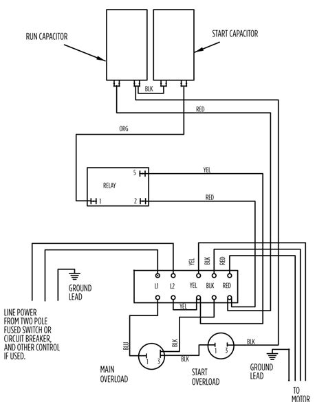 single phase 120v motor wiring diagrams 3 phase electric