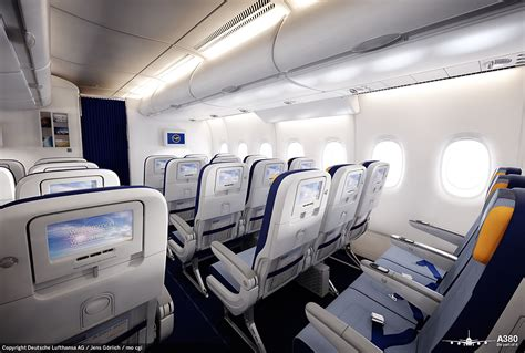A380 Plane Interior by Lufthansa S Airbus A380 Caign Interior Images By