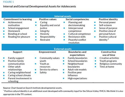 Search Institute Family Assets The Fellowship Initiative In Context Applying A Positive Youth Development Framework