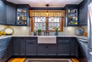 colonial blue kitchen traditional kitchen bridgeport